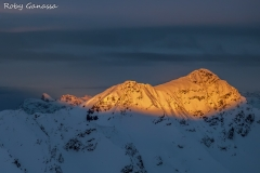 Prima luce sul monte Confinale m 3370