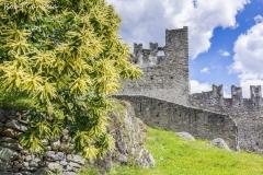 Il castello Visconti Venosta a Grosio