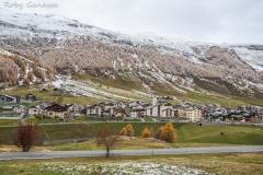Nevicata autunnale a Livigno