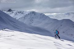 Livigno. Scialpinismo al monte della Neve m 2785