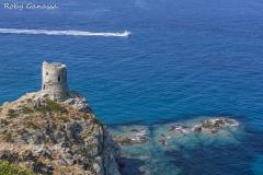 Cape Corse, la Torre dell'Agnello nei pressi di Barcaggio