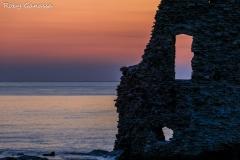 Macinaggio, la Torre di Santa Maria all'alba