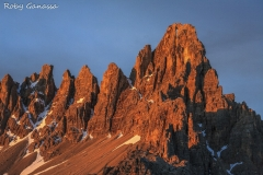 Alba sul monte Paterno