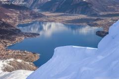 L'alto Lario e il lago di Como dal monte Bregagno