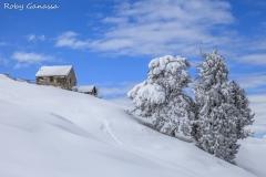 La baita della Mascherpera all'alpe Tagliata