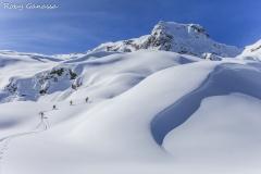 Scialpinismo in val Bondone