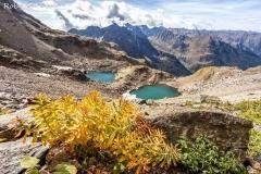 Il lago degli Uomini e il lago delle Donne in alta val Caronno