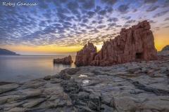 Le Rocce Rosse di Arbatax all'alba