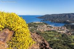 Porto Azzurro visto dal Monte della Croce