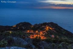 Crepuscolo a Pratesi sull'isola d'Elba
