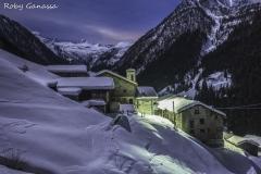 Notturna invernale alla contrada di S.Antonio