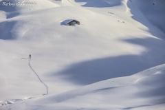 Scialpinismo alla baita Porcile