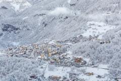 Abbondante nevicata a Caspoggio