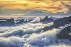 Dal passo Cameraccio sguardo fino al monte Rosa