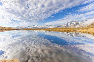 Il lago degli Andossi in valle Spluga
